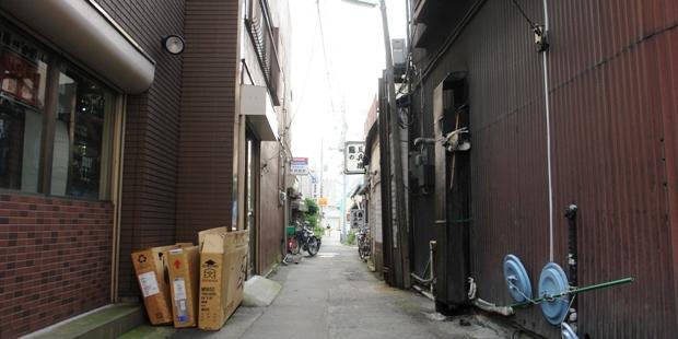 土浦繁盛記 狭い路地