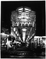 往時の土浦名店街ネオン