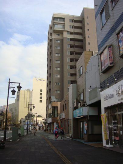 土浦中心市街地風景