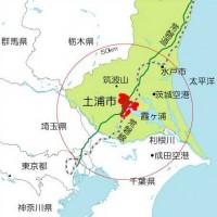 土浦市の位置